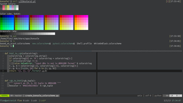 example colorscheme